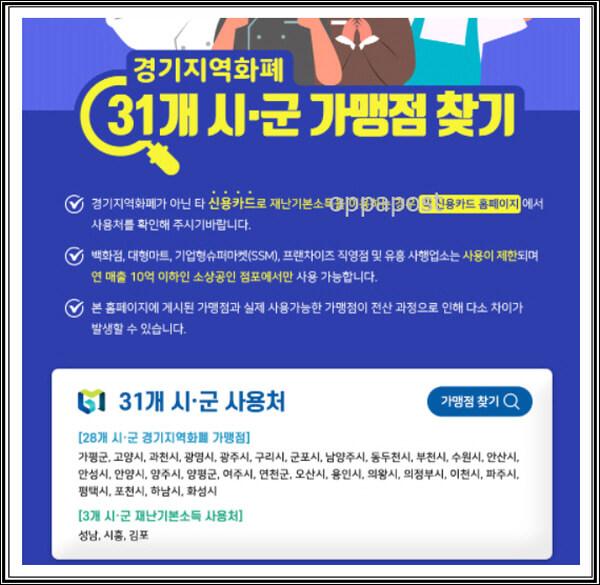 수원페이-사용처-가맹점-경기지역화폐-홈페이지-조회